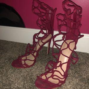 Aldo Raspberry heels
